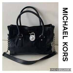 Michael Kors Hamilton Bag Medium Purse MK Tote